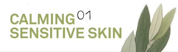 01 CALMING / SENSITIVE SKIN