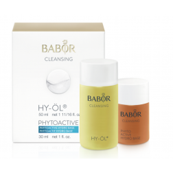 CLEANSING - Set  HY-Öl & Phytoactive Base (Kleingrösse 50ml & 30ml)