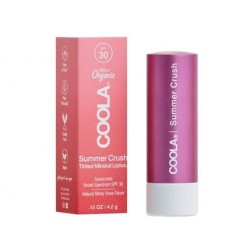 COOLA - Mineral Liplux SPF 30 -Summer Crush (Dark pink)